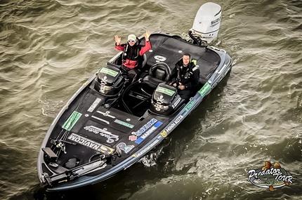 Winnaars Predatortour Nederland 2019. Humminbird/Minn Kota One-Boat- Network