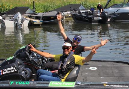 Lionel Chevalier & Tristan Poulain Winnaars Predatortour 2019