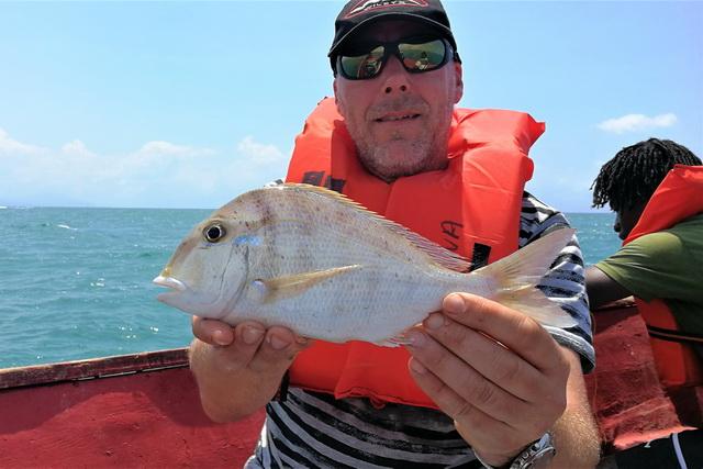 Tripje met de boot levert vaak leuke vissen op