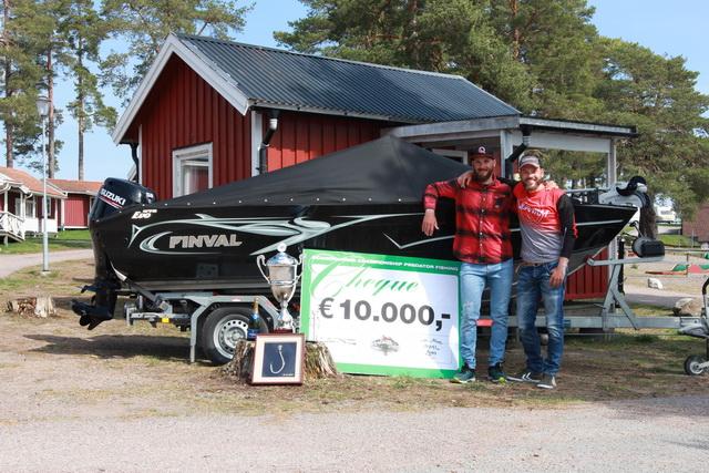 Samen met zijn teammaatje Timo Rosche won Freddy de afgelopen editie van de Predator Tour Zweden.