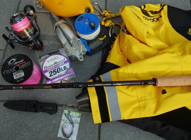 Overzichtje van de belangrijkste materialen welke zijn gebruikt gedurende de trip.