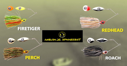 Spro Iris Ambush Spinnerbait Jr.
