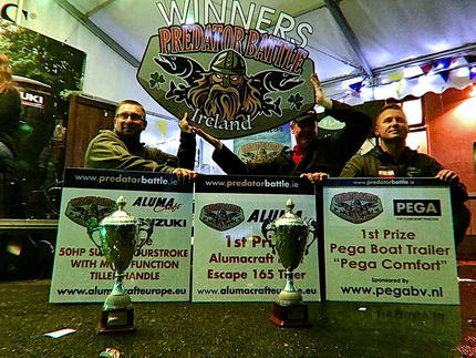 Winners Predator Battle Ireland 2019 Kamil Majda and Tomasz Gabrysiak