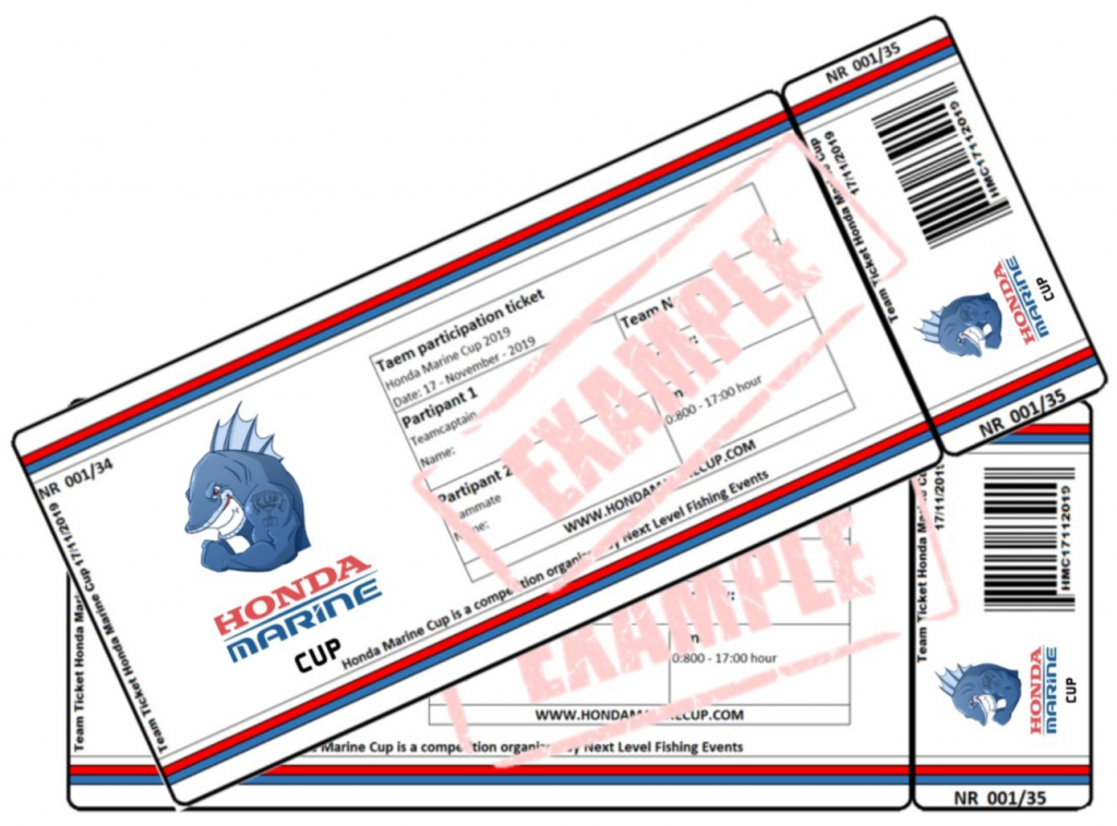 Ticket Honda Marine Cup 2019