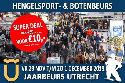 Het programma en super deal van de Hengelsport- en Botenbeurs 2019