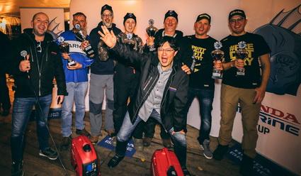 Succesvolle 1e editie Honda Marine Cup