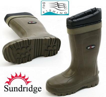 Op zoek naar warme voeten? Sundridge Hotfoot warmte laarzen.