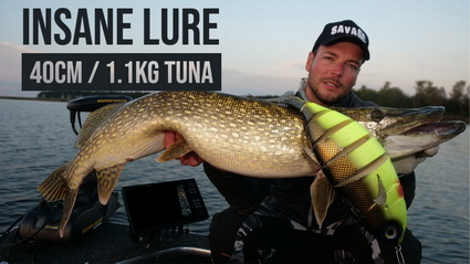Insane Giant Tuna Lure (40CM / 1.1KG!)… for Pike?!