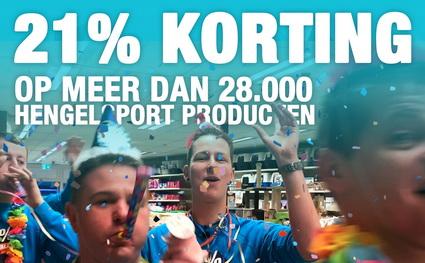 Laatste dag 21% korting bij Zunnebeld Hengelsport.