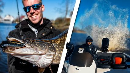 Nieuwe video Fishuals. Een zieke Bassboat voor het het vissen op snoek!
