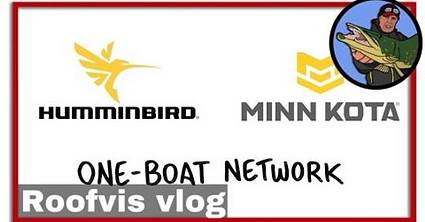 Video uitleg One Boat Network Humminbird en Minn Kota.