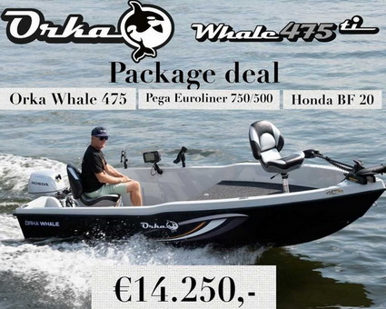 Package deal van de Orka Whale 475.