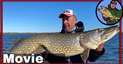 Evert Oostdam Fishing for big pikes in Zweden