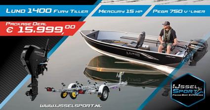 Voorjaar deals Lund Fury 1400 Tiller bij IJsselsport