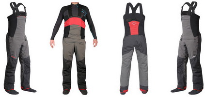 Review Daniel vd Post. Nookie Pro Bib Dry Trousers.