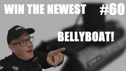 Win actie K.B.Fishing. Maak kans op de nieuwste 12bb Bellyboat!