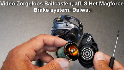 Video Zorgeloos Baitcasten, afl. 8 Het Magforce Brake system, Daiwa.