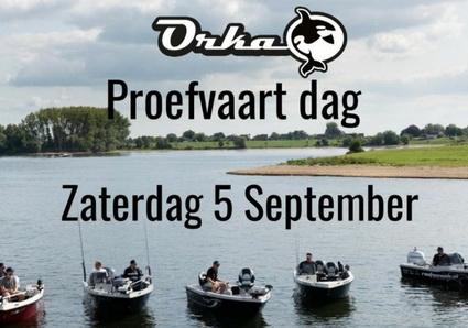 5 september 2020 Eiland van Maurik. Orka Proefvaart dag!