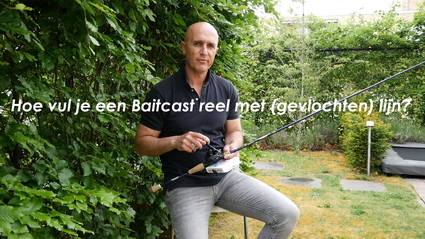 Video Opspoelen Baitcast reel, deel 1 en 2. St.Marcfishing.