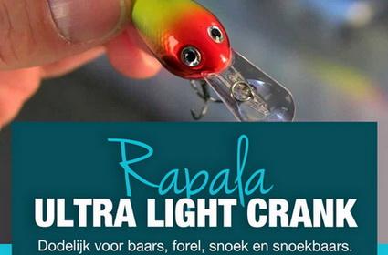 Rapala Ultra Light Crank: onweerstaanbaar?