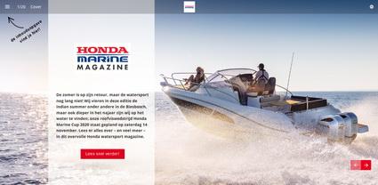 Het nieuwe Honda Magazine is online.