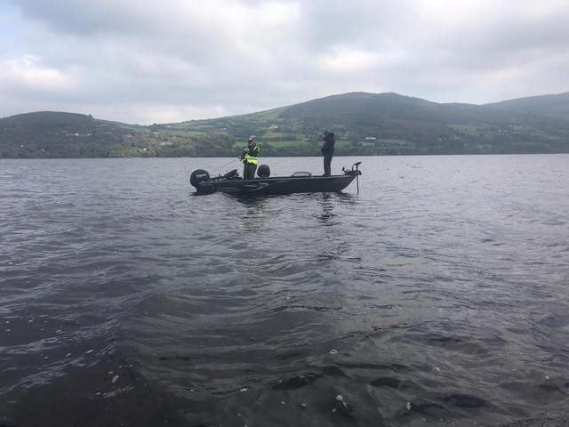 Fishing on Lough Derg, great place to be.
