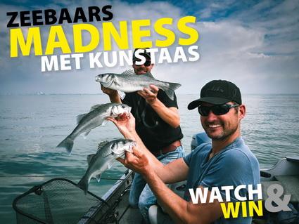 Met kunstaas vissen op zeebaars. WATCH & WIN!