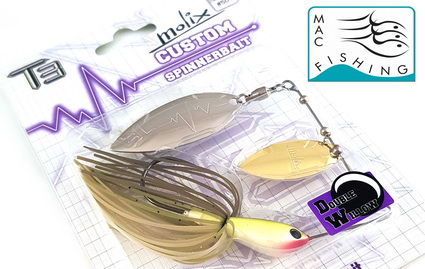 Nieuw bij Mac Fishing de T3 Custom-Molix spinnerbaits.