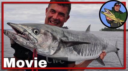 Video Extreem grote vissen vangen in Papua Nieuw Guinea