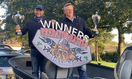 Winners Predator Battle Ireland 2020 Krzysztof Sibiga & Daniel Nesbitt