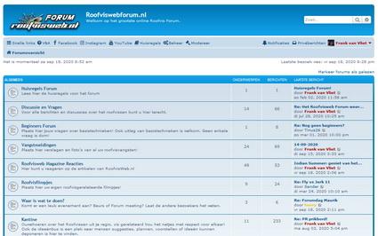 Ben jij al lid van het Roofvisweb Forum?