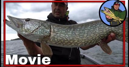 Evert Oostdam vissen op snoek in Zweden, Vanern deel 1