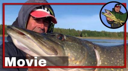 Evert Oostdam Vissen op snoek in Zweden, Vanern deel 2