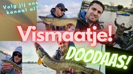 Nieuwe video Vismaatje. Eindelijk weer doodaas!