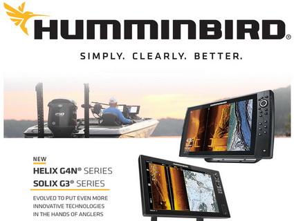 Introductie nieuwe Humminbird HELIX G4N-serie en SOLIX G3-serie.