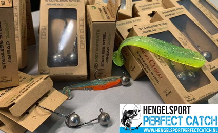Nieuw bij Hengelsport Perfect Catch. Moby Softbaits