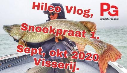 Hilco Vlog 1,  Snoekpraat, tactiek en juiste shads.
