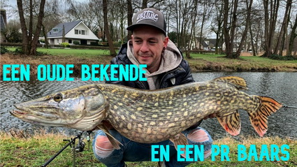 Nieuwe video offishials, monster snoek is mager.
