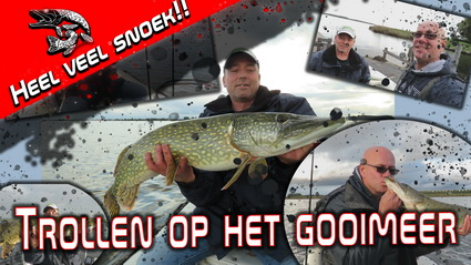 Video Sweetlake Fishing – Trollen op snoek Gooimeer