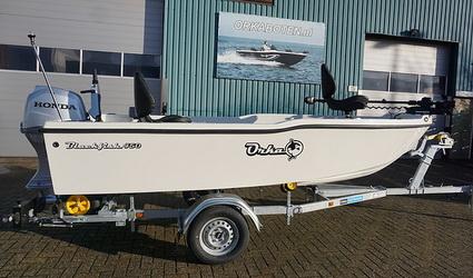De nieuwe Orka Blackfish 450 Roofvisboot.
