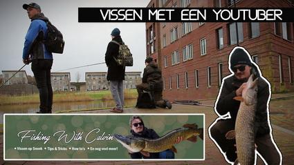 Op pad met Youtuber Fishing With Calvin