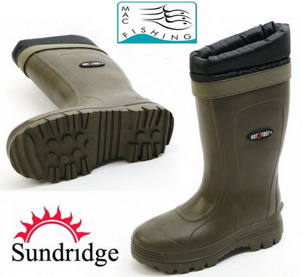Met Sundridge Hotfoot warmte laarzen geen koude voeten.