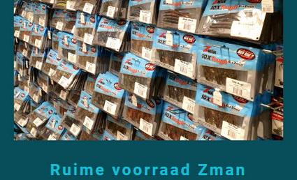 Wij hebben Zman producten heel groot ingekocht!!
