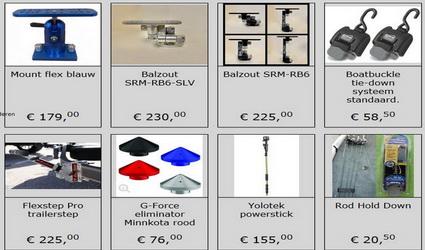 Veel nieuwe producten in de webshop bij Handyfishing.nl