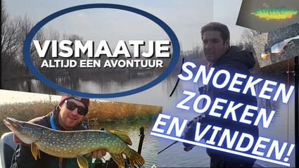 Nieuwe video Vismaatje. Zoeken naar Snoek.