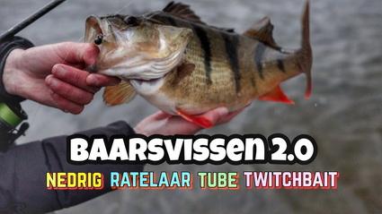 Baars vissen 2.0 Hoe vang je baars? Ned Rig, Tube, Twitchbait en Ratelaar.