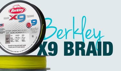 Berkley X9 Braid en meer bij Zunnebeld Hengelsport.