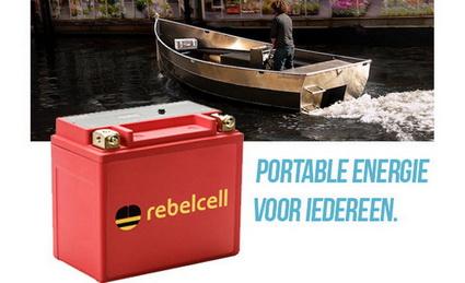 Rebelcell portable energie voor iedereen.
