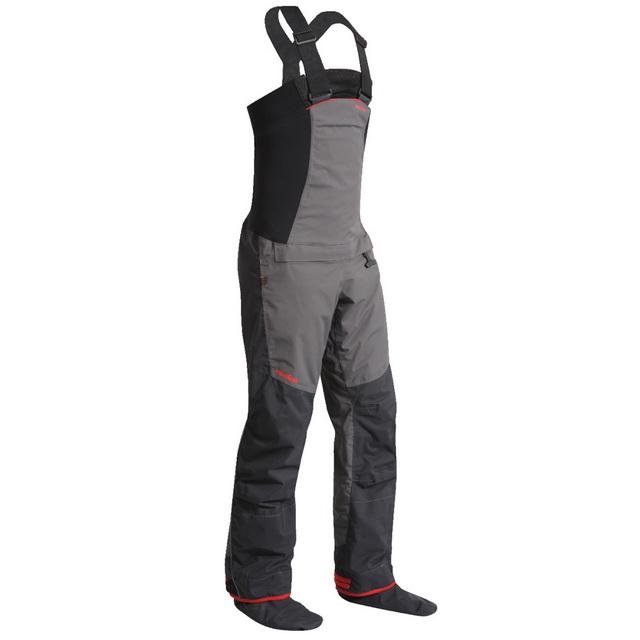 Een Nookie Pro Bib Dry Trousers is ideaal om mee in het water te lopen.