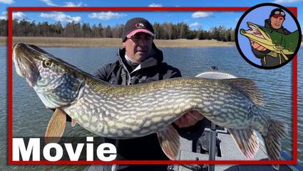 Vissen op meter snoek in Zweden deel 2.